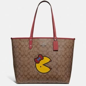 Reversible Tote With Ms. Pac-Man
